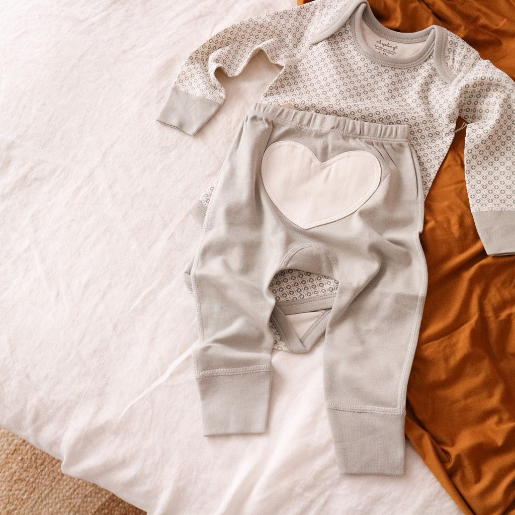 Soft organic clothing for newborns and older babies
