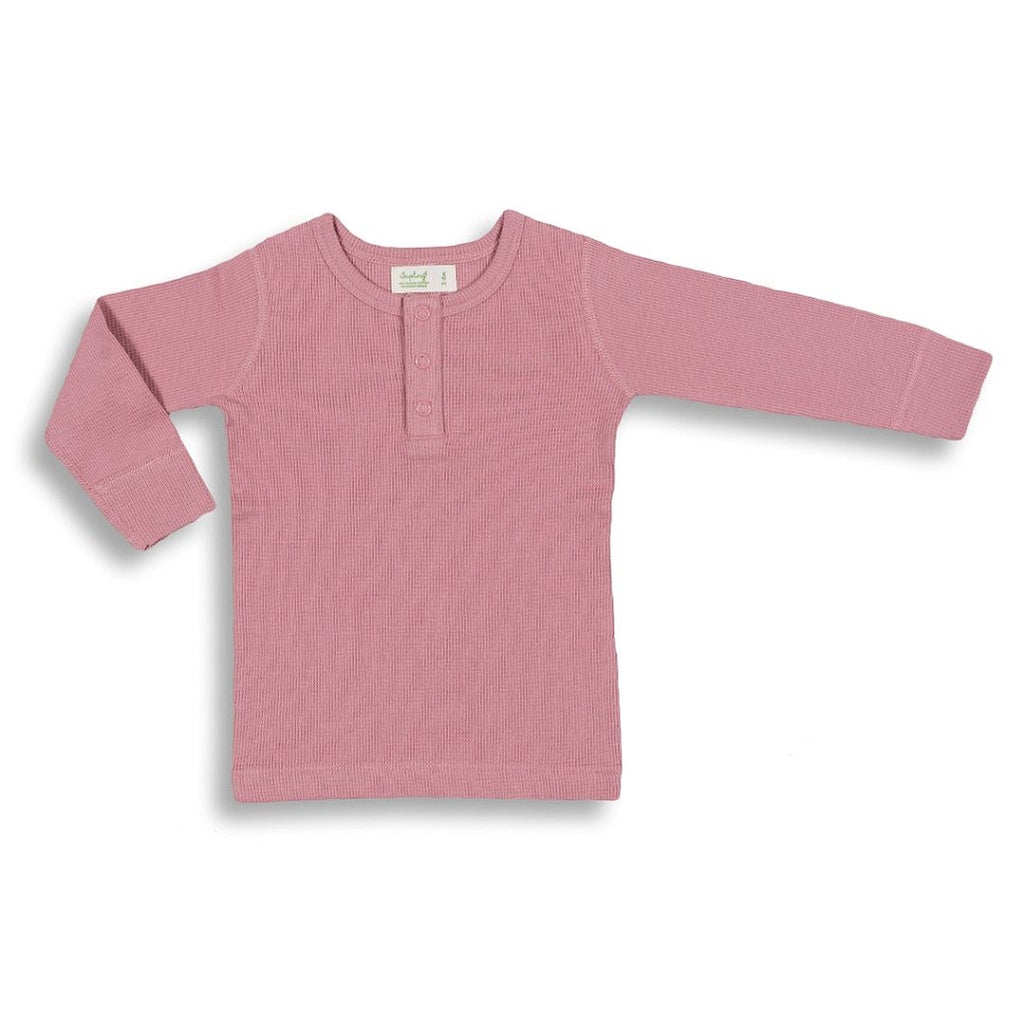 Pink long sleeve shirt for babies