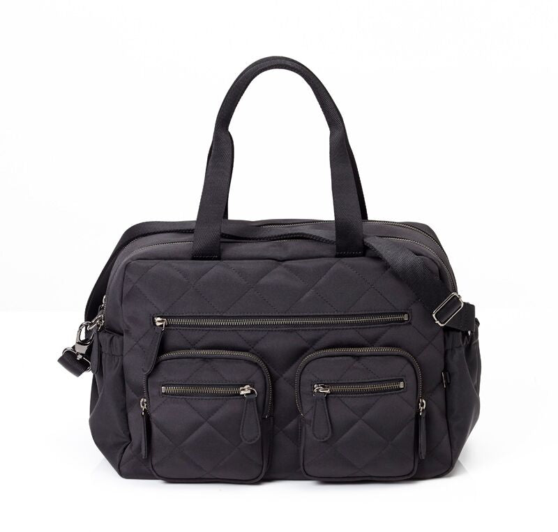 OiOi Black nappy bag Australia