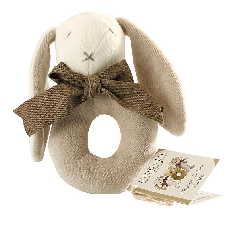 Soft organic cotton toy for babies