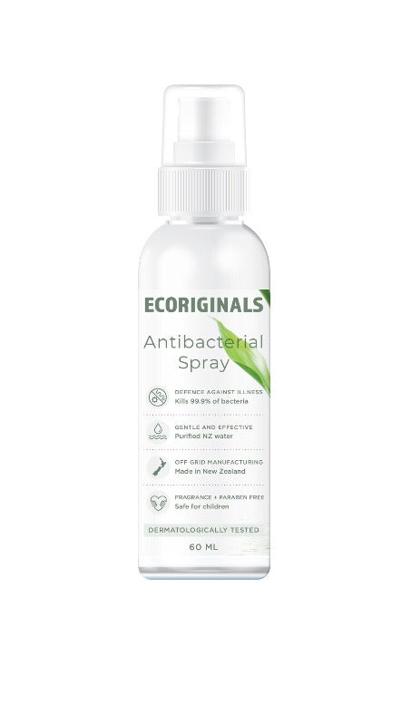 Ecoriginals Antibacterial Spray that is safe for children