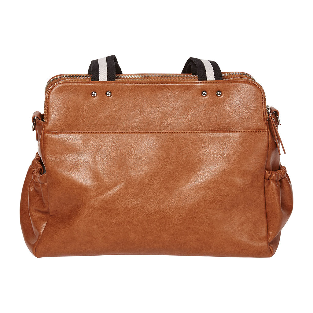 OiOi baby bag tan colour