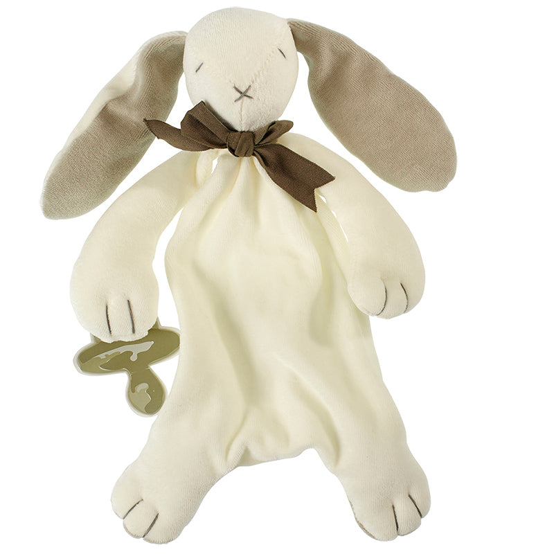 Soft toy Maud N Lil Ears the Bunny Comforter White