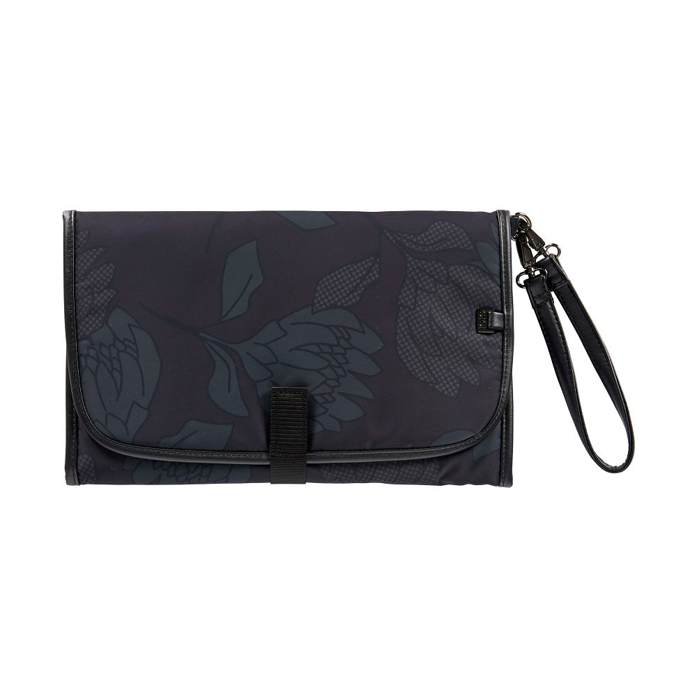black charcoal change mat clutch from OiOi
