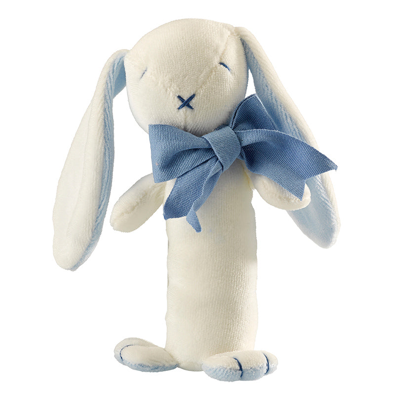 Soft Bunny Rattle Toy