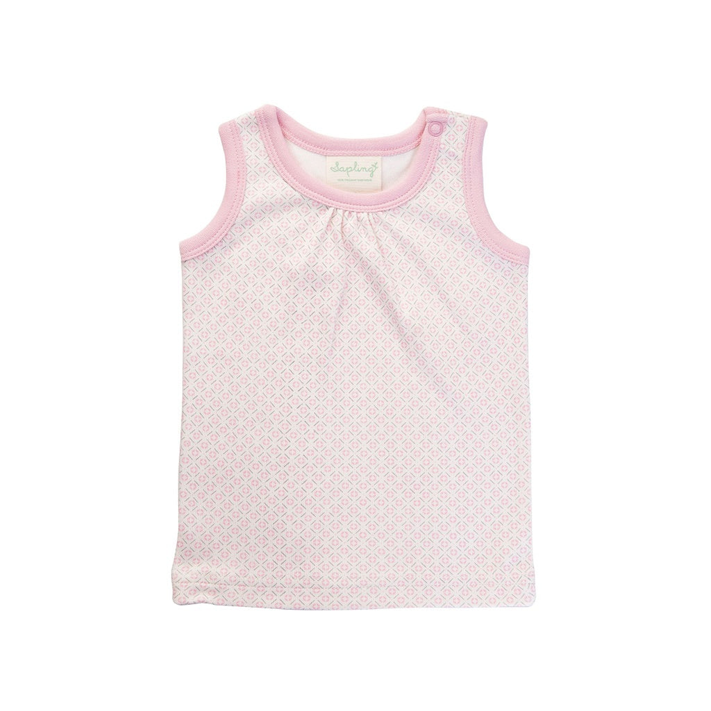 Pink singlet for babies for summer