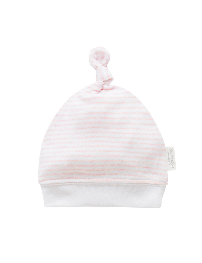 Pink Beanie for Newborns
