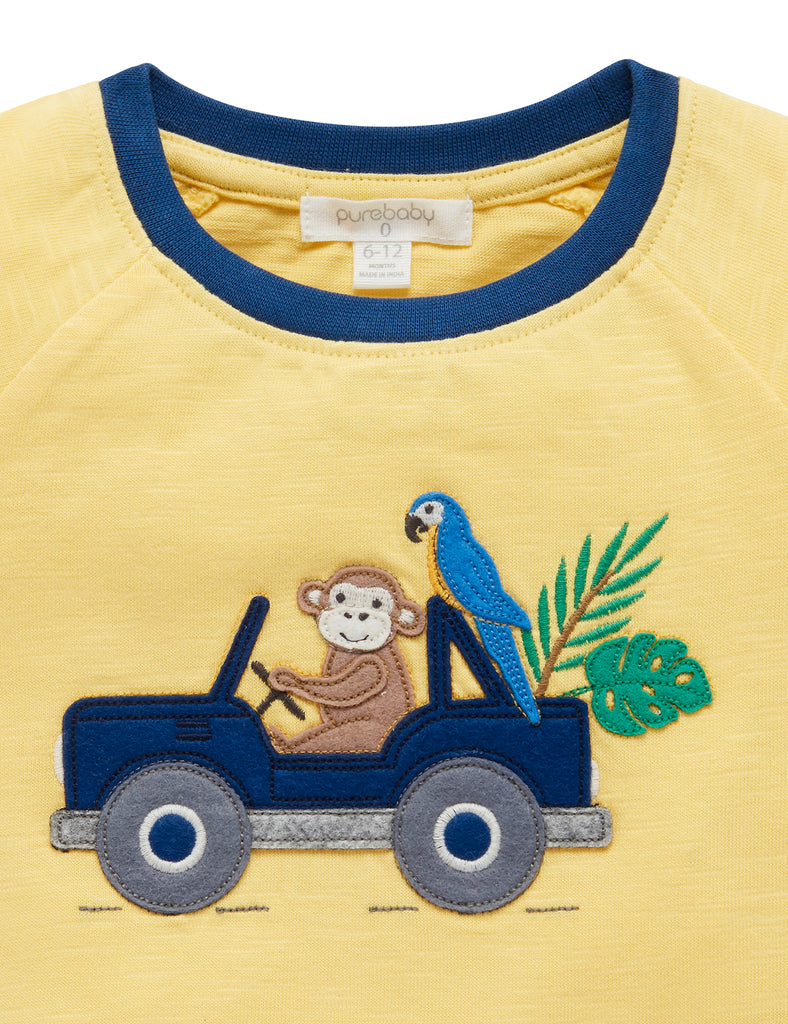 Yellow Tee Shirt for babies