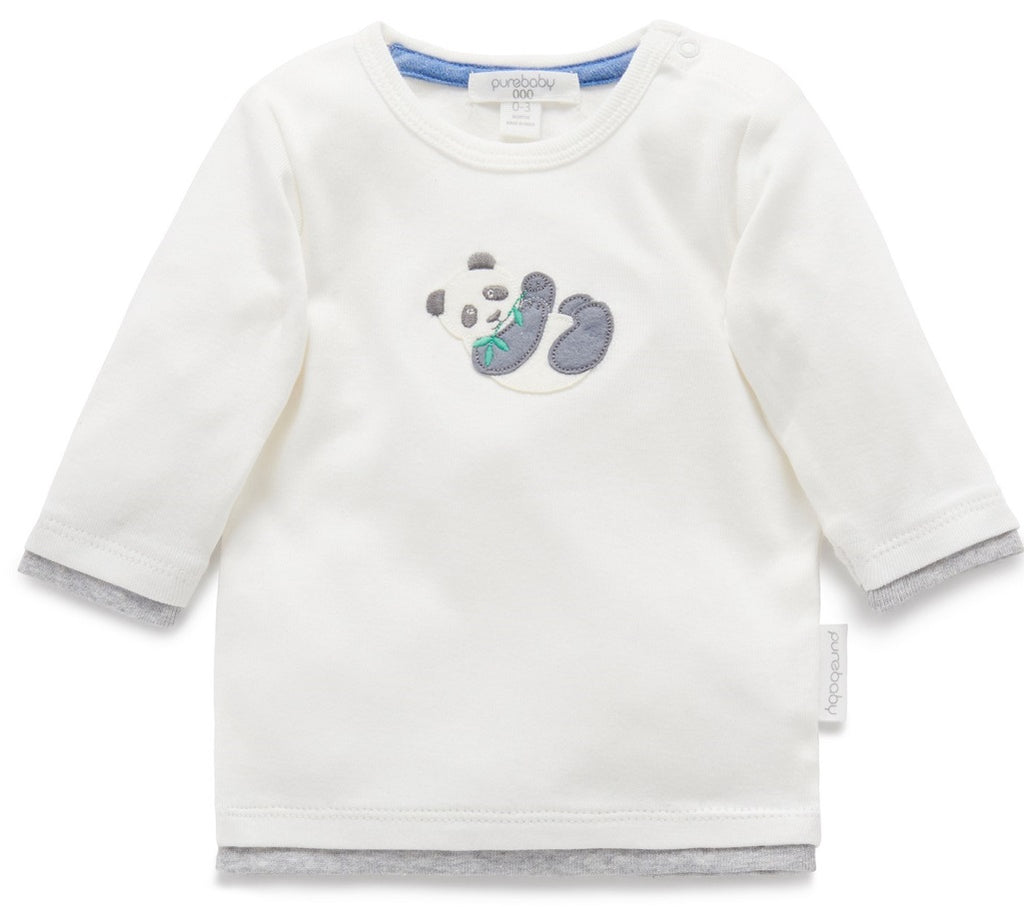 Unisex Long sleeve shirt for babies