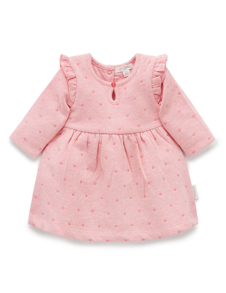 Winter dress for baby girl