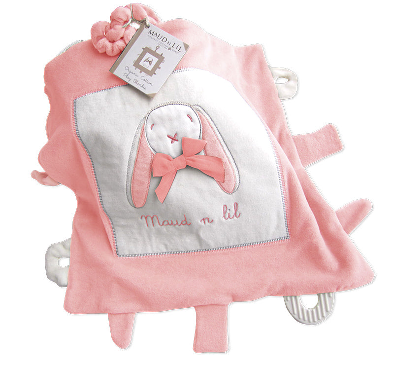 Rose the Bunny Comforter Toy Blankie