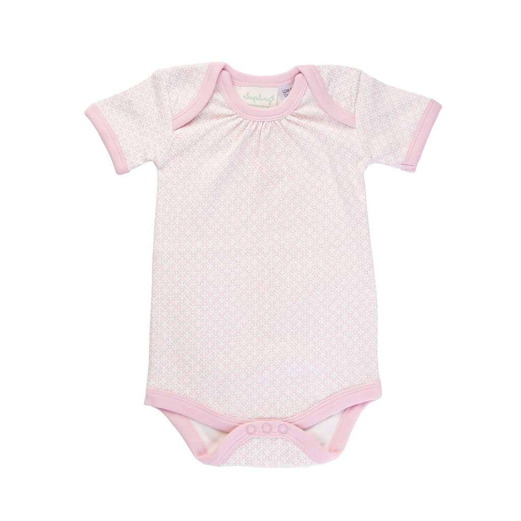 100% organic cotton bodysuit for baby girls
