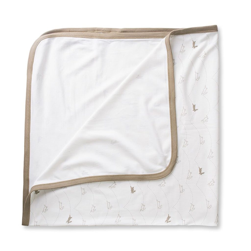 100% organic cotton super soft baby blanket.