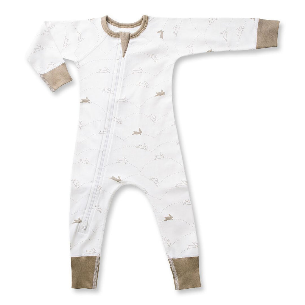 Sapling Child Bunny Zip Romper