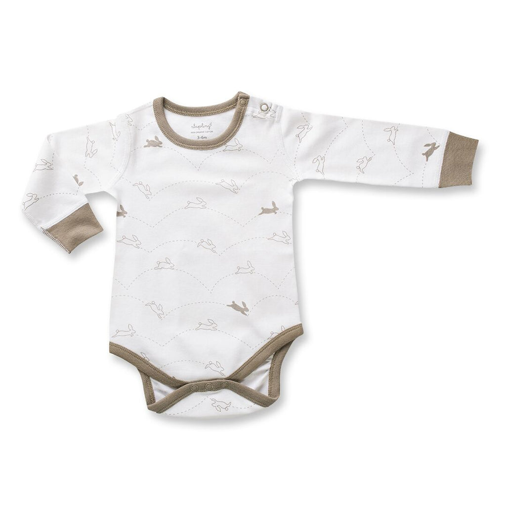 Sapling Child Bunny Long Sleeve Bodysuit
