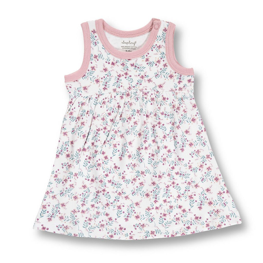 organic cotton baby girls dress