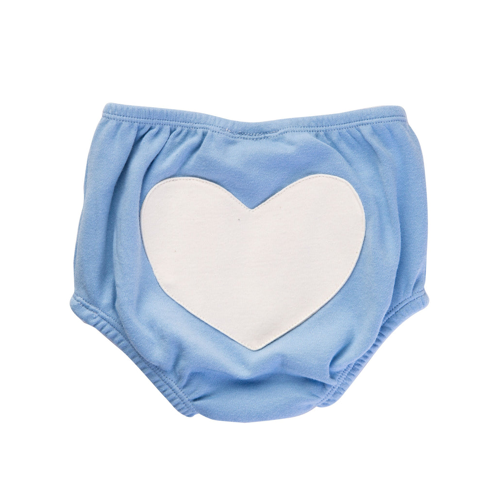 Sapling Child Little Blue Heart Bloomers