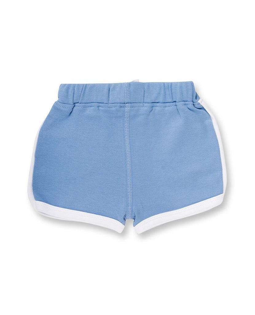 Sapling Child Whale Blue Shorts