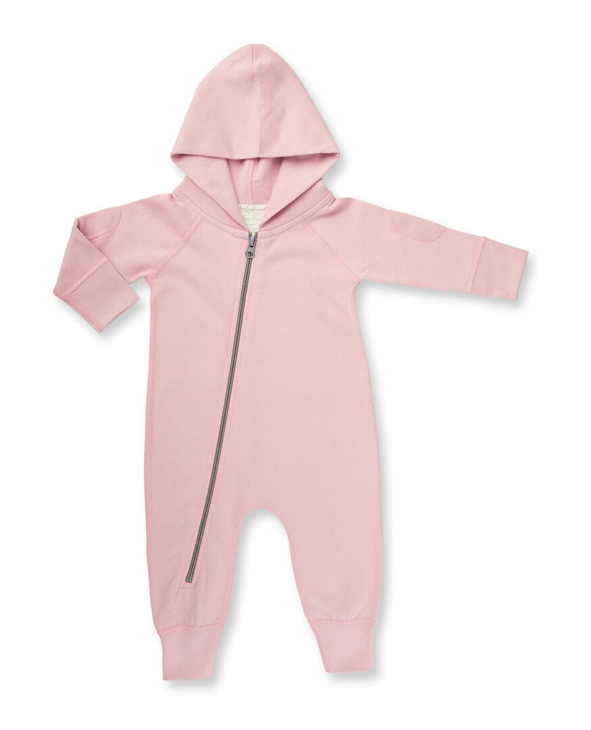 Sapling Child Dusk Pink Winter Zipsuit