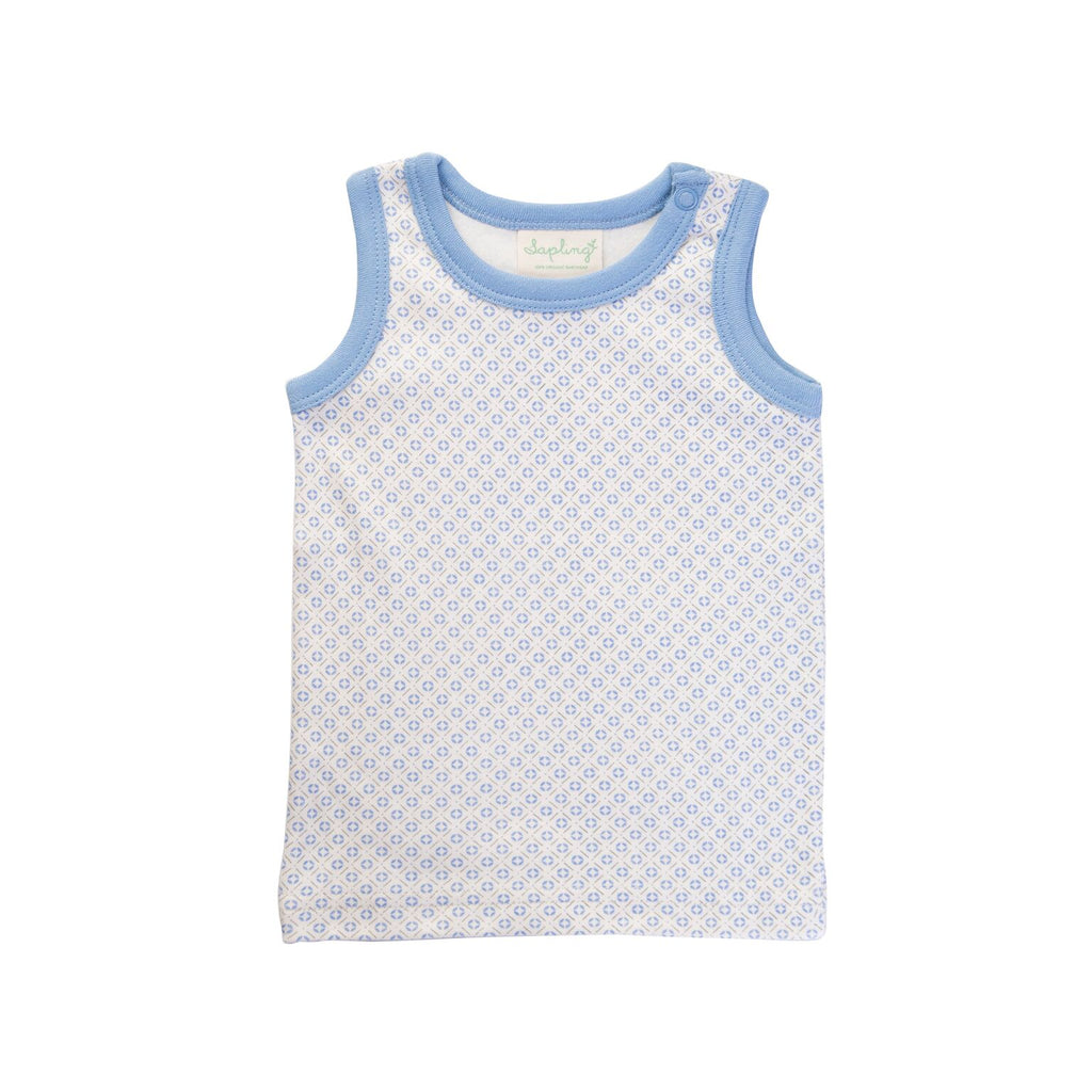 Sapling Child Little Boy Blue Tank