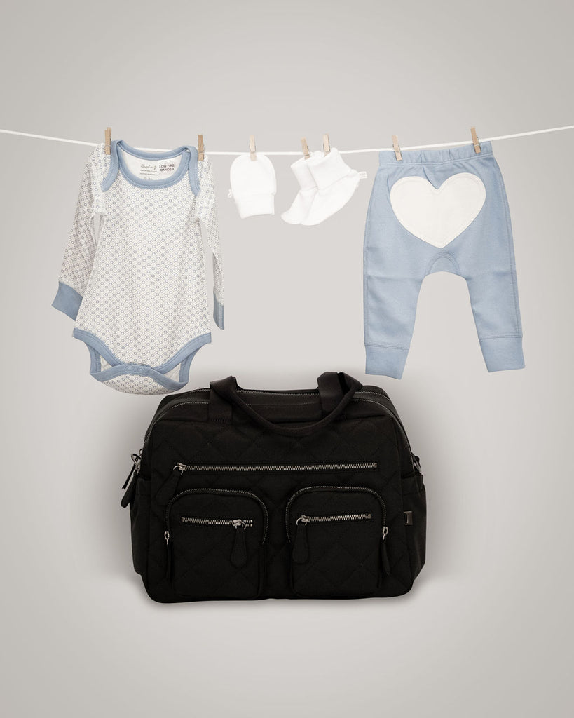 Pre Packed Hospital Bag for babies in blue