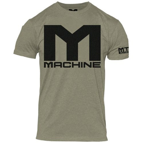 Machine Logo T-Shirt Military Green - MTS Nutrition