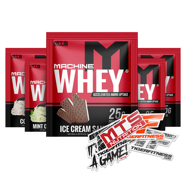 Machine Whey Protein | 5 Sample Starter Kit