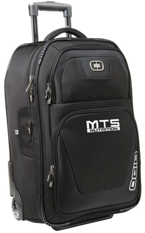 "MTS Nutrition Kickstart Wheeled 22"" Travel Bag - MTS Nutrition"