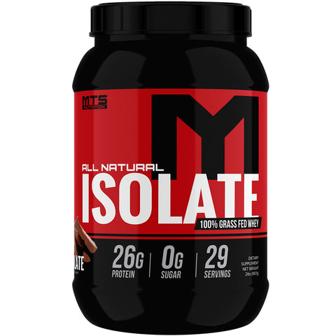 All Natural Isolate™ 100% Grass Fed non-GMO, rGHb Free - MTS Nutrition