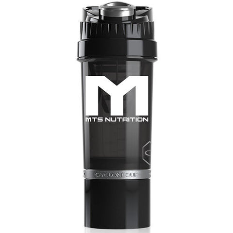 MTS Nutrition Cyclone Cup | 22oz Black & White - MTS Nutrition