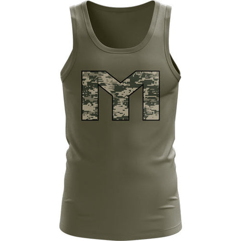 MTS Digital Camo Athlete Tank - MTS Nutrition