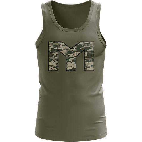 MTS Digital Camo Athlete Tank