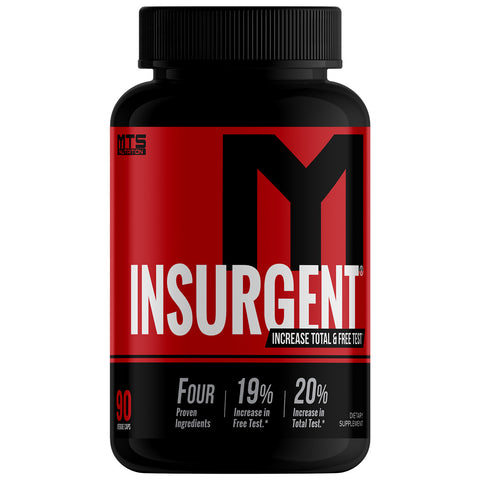 MTS Nutrition Insurgent | Increase Total & Free Testosterone