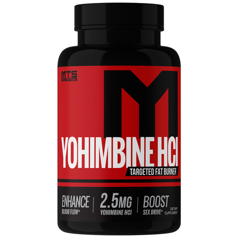 Yohimbine HCL™ Alpha Receptor Inhibitor - MTS Nutrition
