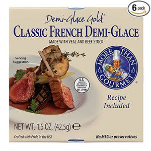 Red Wine Sauce - Gourmet Classic French Demi-Glace