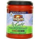 Folgers Half Caff Coffee, 10.8 Ounce (Pack of 2) - Buy Fast delivery