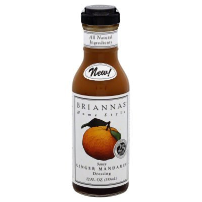Brianna's Ginger Mandarin Dressing (Pack of 1 - 12oz Bottle) - Buy Fast delivery