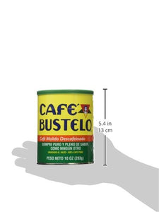 Cafe Bustelo Coffee Decaffeinated, 10-ounce Cans (Pack of 4) - Buy Fast delivery