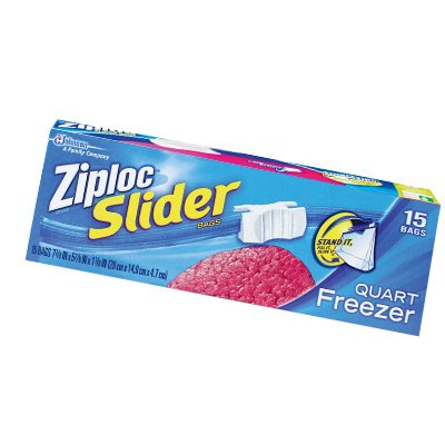 Ziploc Slider 3PK 15CT QT Freezer Bag - Buy Fast delivery