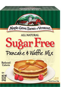 Maple Grove Farms Sugar Free Pancake and Waffle Mix 8.5 Oz