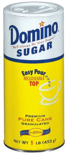 Domino Premium Pure Cane Granulated Sugar Canister (Pack of 12) - Buy Fast delivery