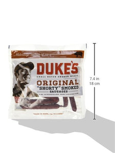 "Duke's Original ""Shorty"" Smoked Sausage, Jerky 5 Oz (Pack of 4) - Buy Fast delivery"