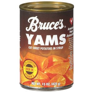 Bruce's Yams, Sweet Potatoes in Syrup, 15 oz can (8 pack) - Buy Fast delivery