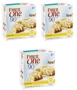 Fiber One 90 Calorie Bar, Lemon 5.34 Oz - 3 Pack - Buy Fast delivery