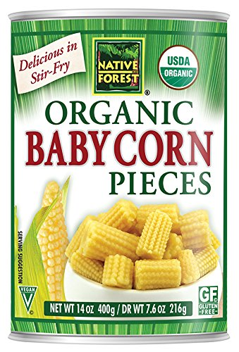 Native Forest Organic Cut Baby Corn, 14-Ounce Cans (Pack of 6) - Buy Fast delivery