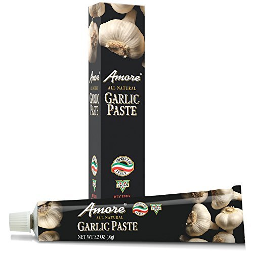 Amore Paste Garlic, 3.2-Ounce Tubes (Pack of 6) by Amore - Buy Fast delivery