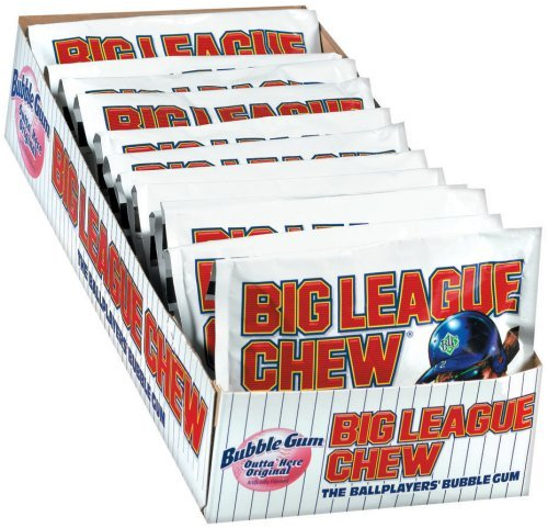 Big League Chew, Original, 2.1-Ounce Pouch, 12-Count - Buy Fast delivery