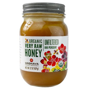 Madhava Natural Sweeteners Organic Raw Honey, 22-Ounce - Buy Fast delivery