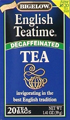 Bigelow Tea Decaf English Teatime 20 Bags (Pack of 6) - Buy Fast delivery