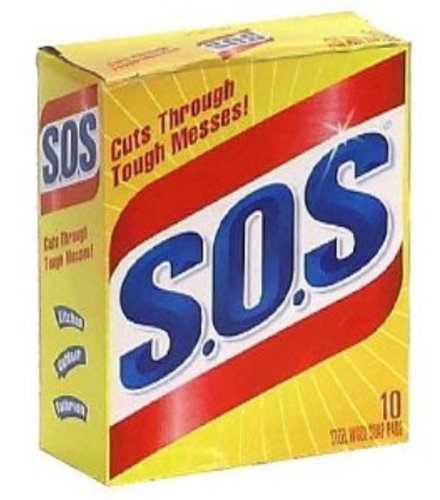 S.O.S 98014 Steel Wool Soap Pad - Buy Fast delivery